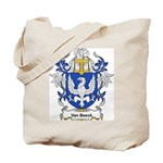 Van Beeck Coat of Arms Tote Bag