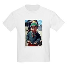 Mayan boy Kids T-Shirt