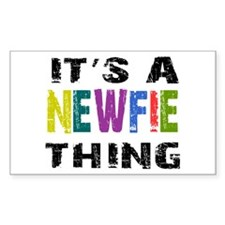 Newfie THING Decal