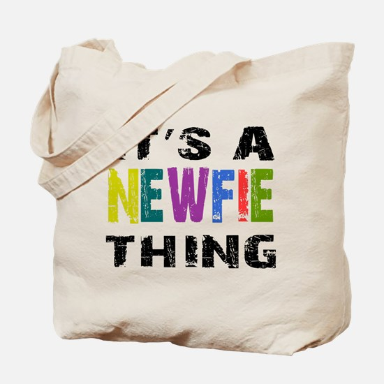 Newfie THING Tote Bag