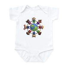 Holding Hands Infant Bodysuit