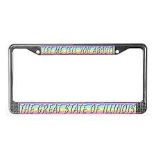 """Illinois"" License Plate Frame"