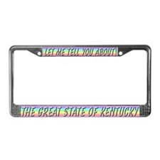 """Kentucky"" License Plate Frame"