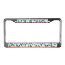 """Nevada"" License Plate Frame"
