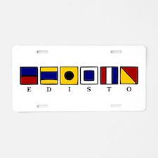 Nautical Edisto Aluminum License Plate