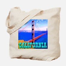 California Golden Gate Bridge Tote Bag