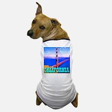 California Golden Gate Bridge Dog T-Shirt