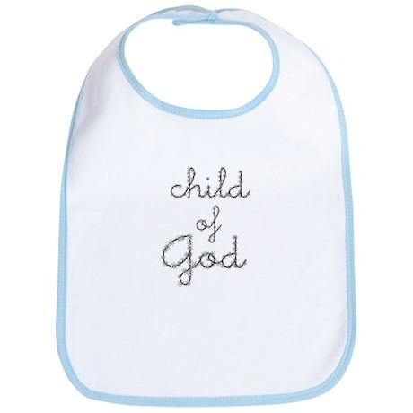 daisy - child of God Bib