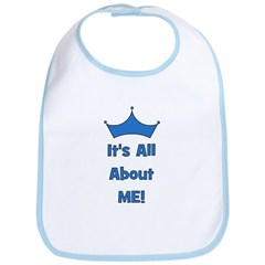 It's All About Me! Blue Bib