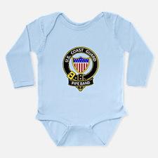 Unique Coast guard pipe band Long Sleeve Infant Bodysuit