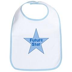 Future Star - Blue Bib