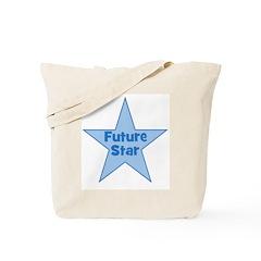 Future Star - Blue Tote Bag
