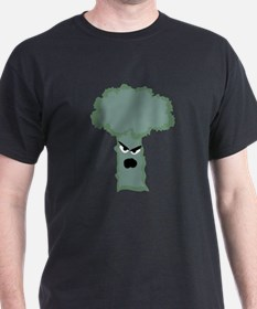 no one likes broccoli (black T)
