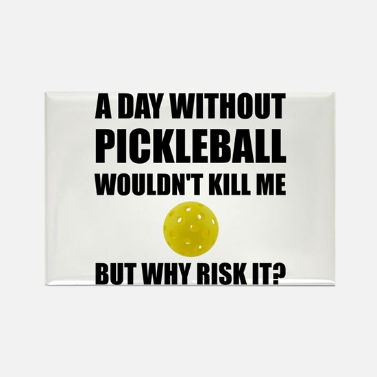 Why Risk It Pickleball Magnets