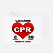 """""""Save a Life!"""" Greeting Cards (Pk of 10)"""