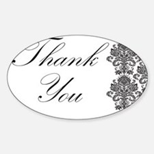 BW Thank You Card.png Decal