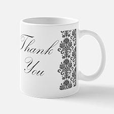 BW Thank You Card.png Small Small Mug