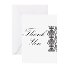 BW Thank You Card.png Greeting Cards (Pk of 10)