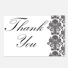 BW Thank You Card.png Postcards (Package of 8)