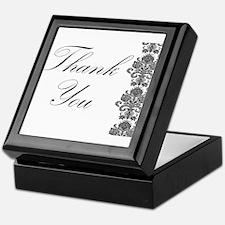 BW Thank You Card.png Keepsake Box