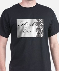 BW Thank You Card.png T-Shirt