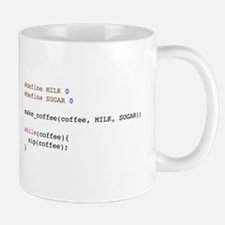 Coder's mug - black with no sugar