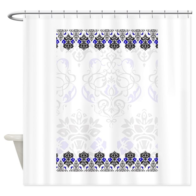 Damask Shower Curtain By PrintedLittleTreasures