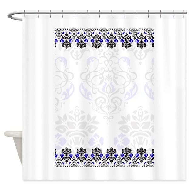 Damask Shower Curtain By PrintedLittleTreasures