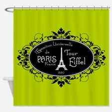 L'Exposition Universelle Shower Curtain