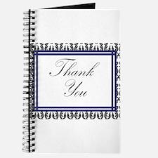 Monogram Damask Thank You.jpg Journal