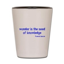Seed of Knowledge (blue) Shot Glass