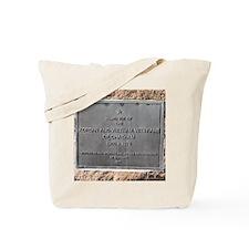 Chatham Korean Plaque Tote Bag
