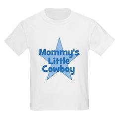 Mommy's Little Cowboy Kids T-Shirt