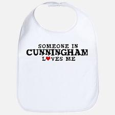 Cunningham: Loves Me Bib