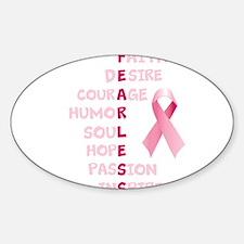 FEARLESS Sticker (Oval)