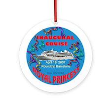 Inaugural Royal Cruise - Ornament (Round)