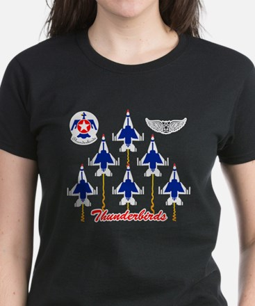 Thunderbirds Women's Dark T-Shirt