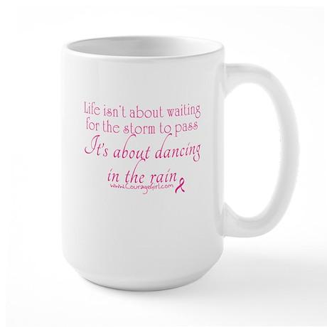 Dancing in the Rain Large Mug