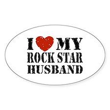 Rock Star Husband Decal