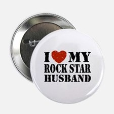"Rock Star Husband 2.25"" Button"
