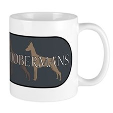 Addicted to Dobermans Mug