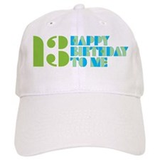 Happy Birthday 13 Baseball Baseball Cap