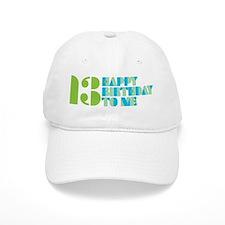 Happy Birthday 13 Baseball Cap