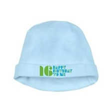 Happy Birthday 16 baby hat