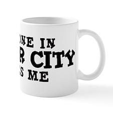 Foster City: Loves Me Small Mug