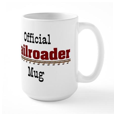 Official Railroader Large Mug