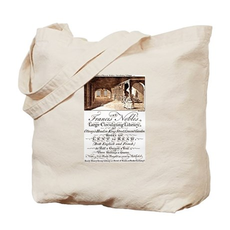 18th C Library Tote Bag
