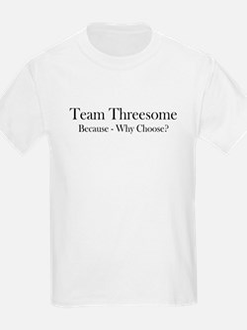 TeamThreesome_Baskerville_bumper_BLACK.psd T-Shirt