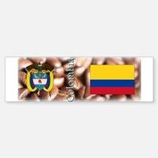 Colombia Bumper Bumper Sticker
