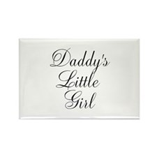 Daddys Little Girl Rectangle Magnet (10 pack)
